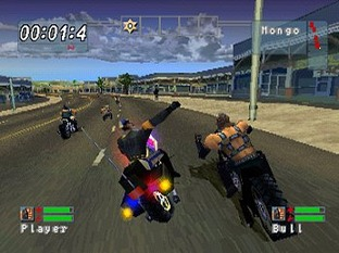 Test Road Rash : Jailbreak PlayStation - Screenshot 3