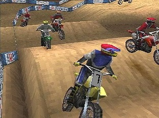 Test Supercross 2000 PlayStation - Screenshot 1