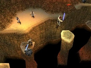 Test Star Wars : Jedi Power Battles PlayStation - Screenshot 6