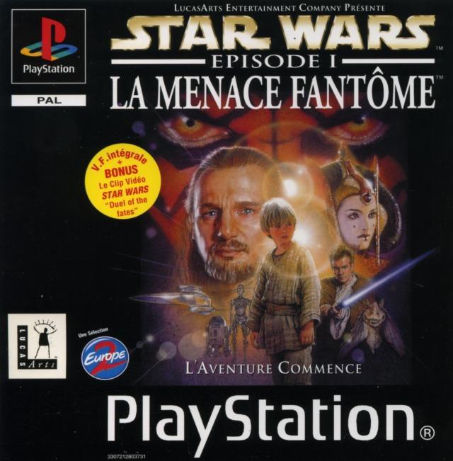 Star Wars Episode 1 La Menace Fant 244 Me Sur Playstation Jeuxvideo Com