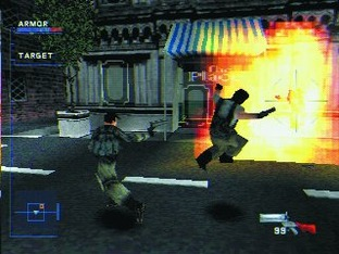 Test Syphon Filter PlayStation - Screenshot 1