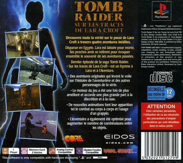 Tomb Raider : Sur les Traces de Lara Croft - PlayStation Image 2 sur