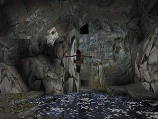 Test Tomb Raider PlayStation - Screenshot 14
