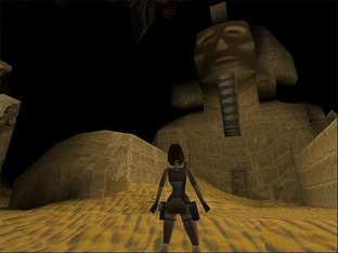 Test Tomb Raider PlayStation - Screenshot 16