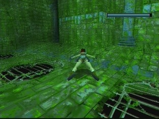 Test Tomb Raider PlayStation - Screenshot 96