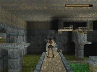 Test Tomb Raider PlayStation - Screenshot 97