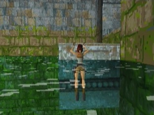 Test Tomb Raider PlayStation - Screenshot 100
