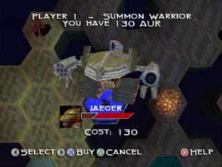 Test The Unholy War PlayStation - Screenshot 9