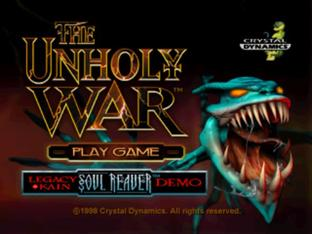 The Unholy War PlayStation