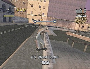 Test Tony Hawk's Pro Skater 3 PlayStation - Screenshot 2