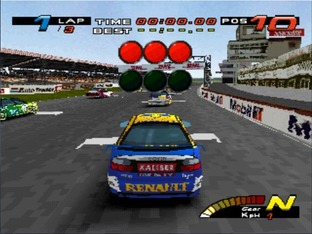 Test TOCA Touring Car Championship PlayStation - Screenshot 2