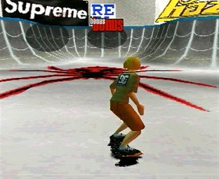 Test Thrasher Skate And Destory PlayStation - Screenshot 1