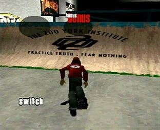 Test Thrasher Skate And Destory PlayStation - Screenshot 2