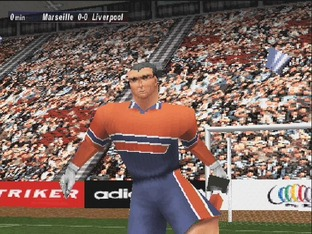 Test UEFA Striker PlayStation - Screenshot 7
