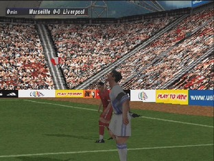 Test UEFA Striker PlayStation - Screenshot 8
