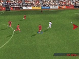 Test UEFA Striker PlayStation - Screenshot 10