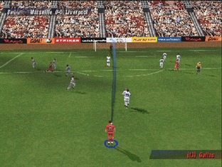 Test UEFA Striker PlayStation - Screenshot 12