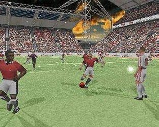 Test UEFA Striker PlayStation - Screenshot 1