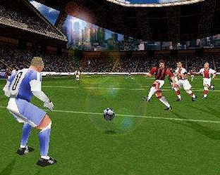Test UEFA Striker PlayStation - Screenshot 2