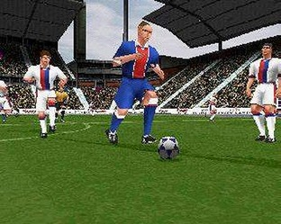 Test UEFA Striker PlayStation - Screenshot 4