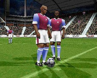 Test UEFA Striker PlayStation - Screenshot 6