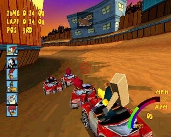 Images Woody Woodpecker Racing PlayStation - 5