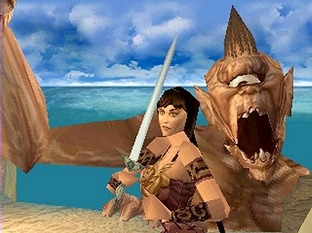 Test Xena PlayStation - Screenshot 2