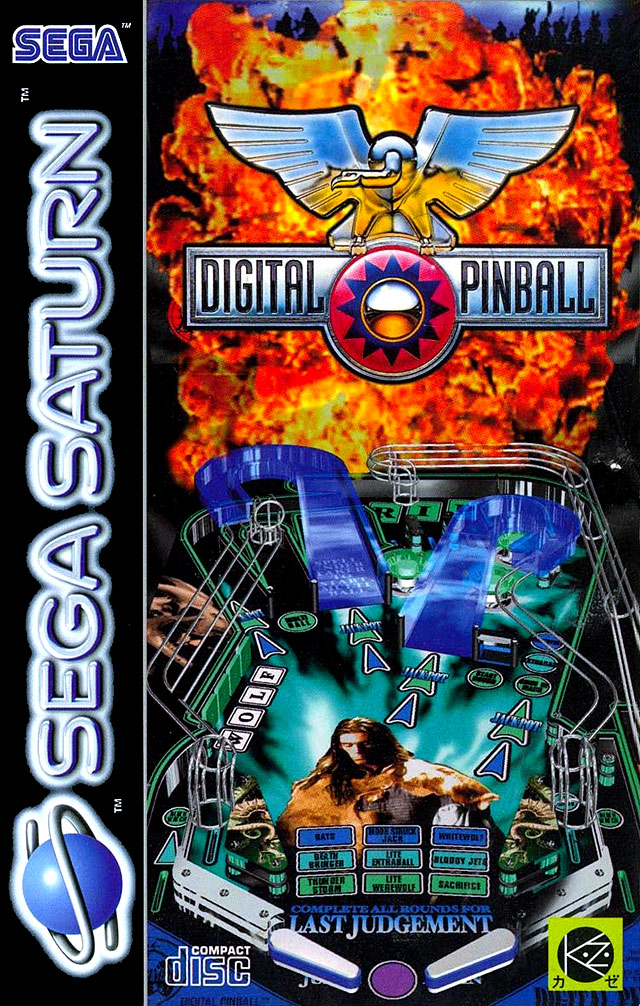 digital pinball sur saturn. Black Bedroom Furniture Sets. Home Design Ideas