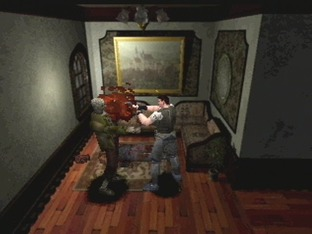 Test Resident Evil Saturn - Screenshot 1