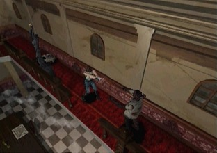 Test Resident Evil Saturn - Screenshot 2