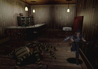 Test Resident Evil Saturn - Screenshot 4