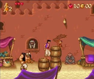 Test Aladdin Super Nintendo - Screenshot 24
