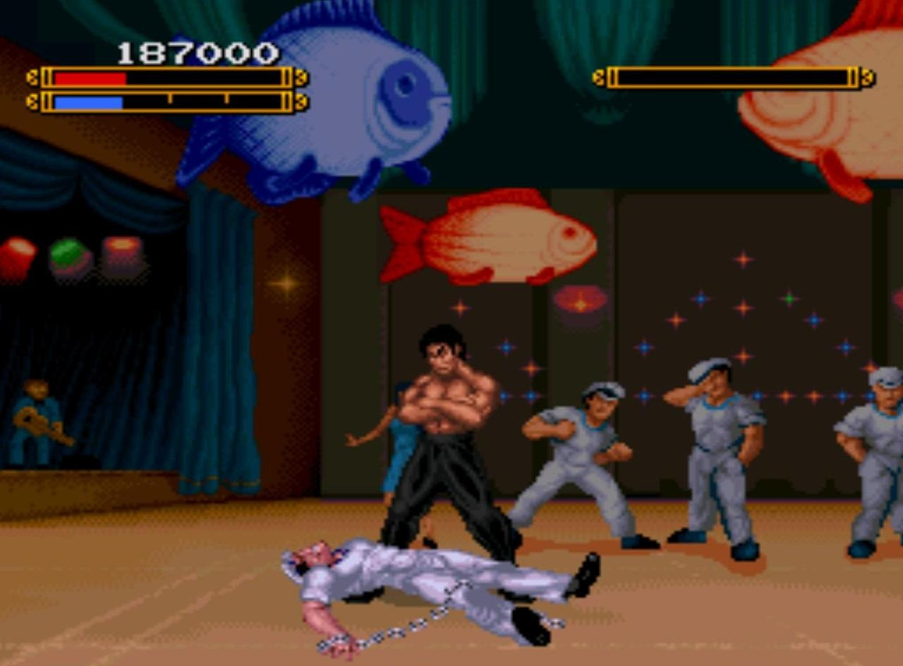 dragon bruce lee story snes