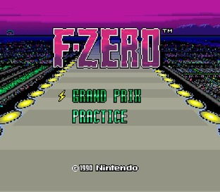 Test F-Zero Super Nintendo - Screenshot 1