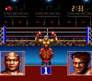 Georges Foreman's KO Boxing Super Nintendo
