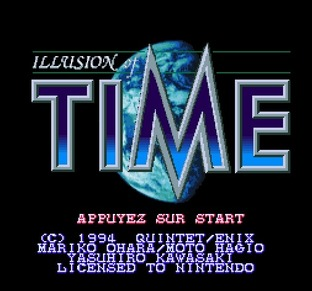 Images Illusion of Time Super Nin
