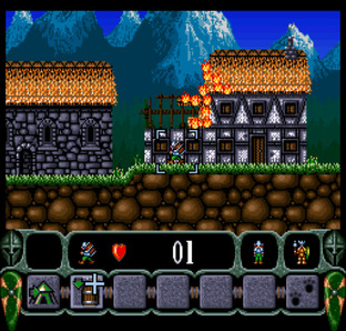 Test King Arthur's World Super Nintendo - Screenshot 16