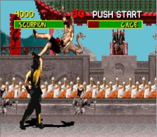 Test Mortal Kombat Super Nintendo - Screenshot 13