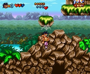 Test Prehistorik Man Super Nintendo - Screenshot 2