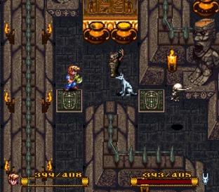 Test Secret of Evermore Super Nintendo - Screenshot 31
