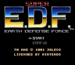 Images Super Earth Defense Force Super Nintendo - 1