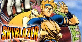 Jogos de Snes e seu desempenho Cybergame  - Página 2 Skyblazer-super-nintendo-snes-00a