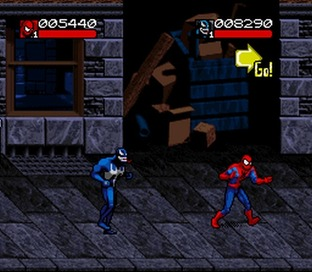 complète Spider-Man & Venom : Separation Anxiety - Super Nintendo