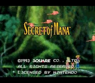 Test Secret of Mana Super Nintendo - Screenshot 1