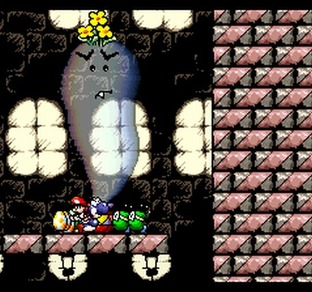 Test Super Mario World 2 : Yoshi's Island Super Nintendo - Screenshot 18