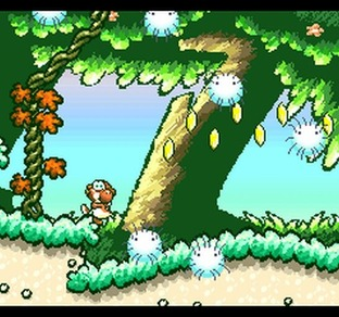 Test Super Mario World 2 : Yoshi's Island Super Nintendo - Screenshot 19