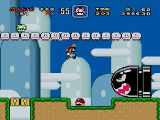 Test Super Mario World Super Nintendo - Screenshot 16