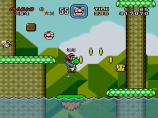 Test Super Mario World Super Nintendo - Scre