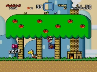 Test Super Mario World Super Nintendo - Screenshot 25