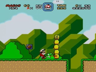 Test Super Mario World Super Nintendo - Screenshot 27